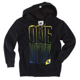One Industries Knock Out Youth Zip-Up Hooded Sweatshirt