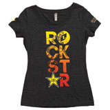One Industries Rockstar Seventeen Ladies Scoop Neck T-Shirt