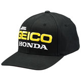 100% Geico/Honda East Flex Fit Hat