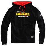 100% Geico/Honda Base Hooded Sweatshirt