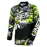 O'Neal Racing Element Attack Jersey Black/Hi-Viz