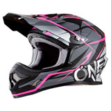 O'Neal Racing Women's 3 Series Freerider Helmet Black/Pink