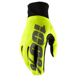100% Hydromatic Gloves Neon Yellow