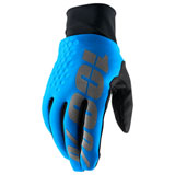 100% Hydromatic Brisker Gloves Blue