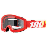 100% Strata Goggle Furnace Frame/Clear Lens