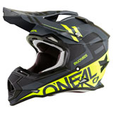 O'Neal Racing 2 Series Spyde Helmet Black/Hi-Viz