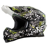 O'Neal Racing 3 Series Attack Helmet Black/Hi-Viz