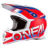 O'Neal Racing 5 Series Blocker Helmet Red/Blue