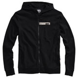 100% Chamber Zip-Up Hooded Sweatshirt