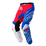 O'Neal Racing Element Burnout Pants Red/White/Blue