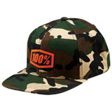 100% Youth Alpha Snapback Hat