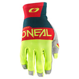 O'Neal Racing Airwear Gloves Blue/Neon Yellow