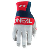O'Neal Racing Airwear Gloves Grey/Blue/Red