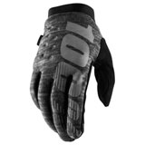 100% Brisker Gloves Heather Grey