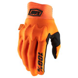 100% Cognito Gloves Fluo Orange/Black