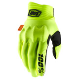 100% Cognito Gloves Fluo Yellow/Black