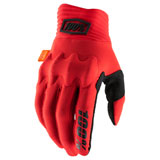 100% Cognito Gloves Red/Black