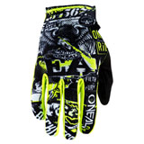 O'Neal Racing Matrix Attack Gloves Black/Neon Yellow