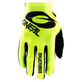 O'Neal Racing Matrix Stacked Gloves Neon Yellow