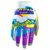 O'Neal Racing Mayhem Crackle 91 Gloves Yellow/White/Blue