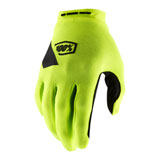 100% Ridecamp Gloves Flo Yellow