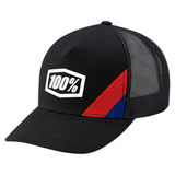 100% Cornerstone X-Fit Snapback Hat