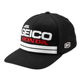 100% Geico/Honda Foxtrot Flex Fit Hat