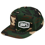 100% Machine Snapback Hat