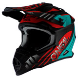 O'Neal Racing 2 Series Spyde Helmet Black/Teal/Red