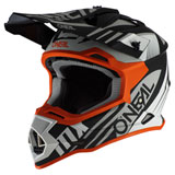 O'Neal Racing 2 Series Spyde Helmet Black/White/Orange