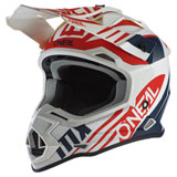 O'Neal Racing 2 Series Spyde Helmet White/Blue/Red