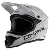O'Neal Racing 3 Series Helmet Flat White