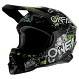 O'Neal Racing 3 Series Attack 2.0 Helmet Black/Neon Yellow