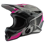O'Neal Racing 3 Series Stardust Helmet Black/Grey/Pink