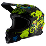 O'Neal Racing 3 Series Villain 2.0 Helmet Neon Yellow