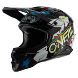 O'Neal Racing 3 Series Villain 2.0 Helmet White