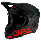O'Neal Racing 5 Series Five Zero Helmet Black/Neon Red