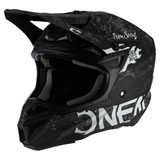 O'Neal Racing 5 Series Hot Rod Helmet Black/White