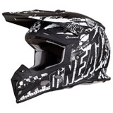 O'Neal Racing 5 Series Rider Helmet Black/White