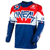 O'Neal Racing Youth Element Warhawk Jersey Blue/Red