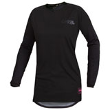 O'Neal Racing Women's Element Classic Jersey Black/Black