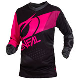 O'Neal Racing Women's Element Factor Jersey Black/Pink