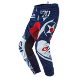 O'Neal Racing Element Warhawk Pants Blue/Red