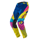 O'Neal Racing Mayhem Crackle 91 Pants Yellow/White/Blue