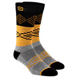 100% Antagonist Athletic Socks Grey