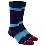 100% Opposition Casual Socks Navy