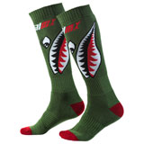 O'Neal Racing Pro MX Print Socks Bomber