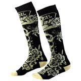 O'Neal Racing Pro MX Print Socks Tophat Black/Beige