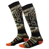O'Neal Racing Pro MX Print Socks Woods Camo