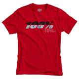 100% Bristol T-Shirt Red